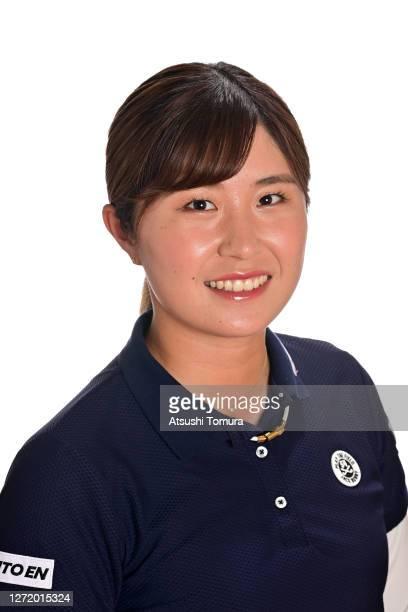 Momoko Osato of Japan poses during the JLPGA portrait session on September 7 2020 in Kasaoka Okayama Japan