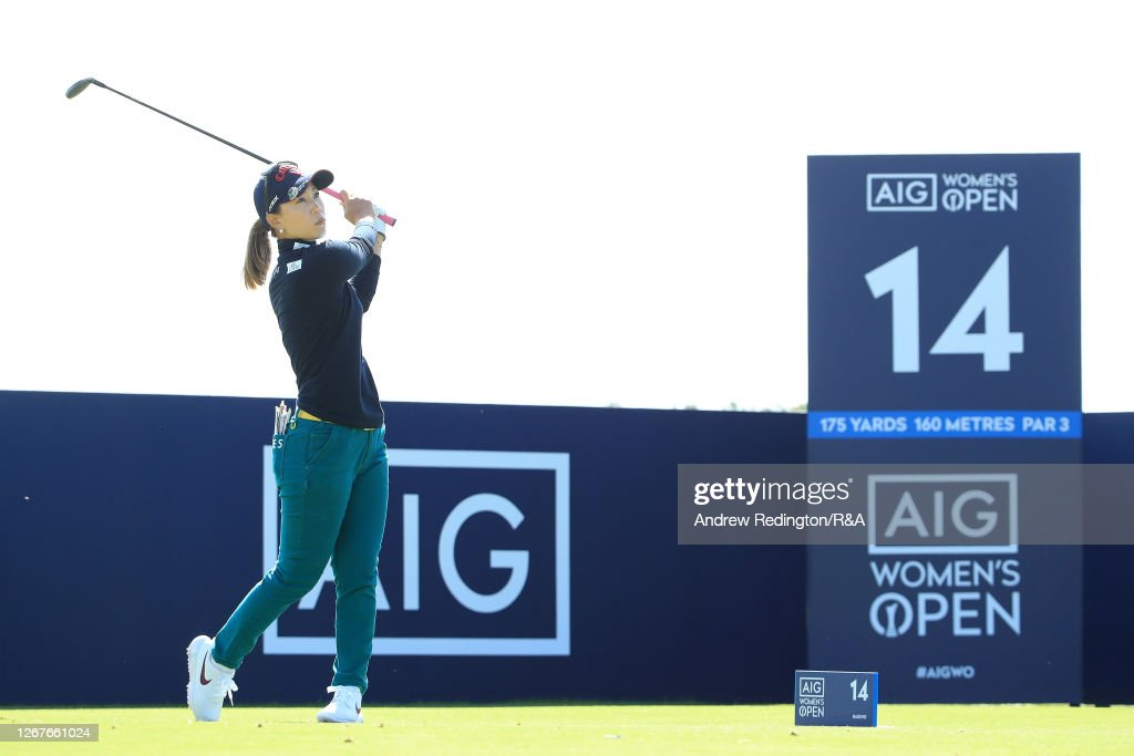 AIG Women's Open 2020 - Day Three : News Photo