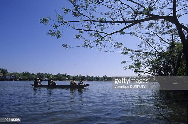 Mompox on an Island of the Magdalena River Colombia in 2009 Mompox or Mompos or Santa Cruz de Mompox is a town in Colombia in the Bolivar Department...