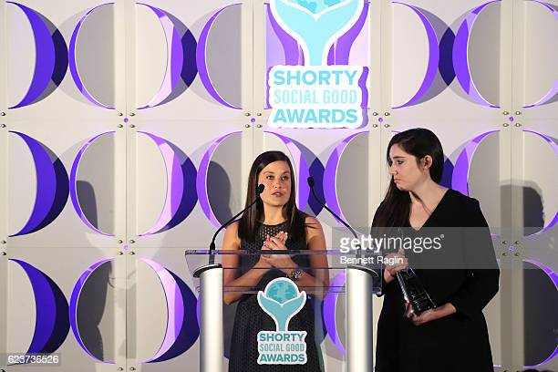 Moms For Transgender Equality receives Best Use of Video during the 1st Annual Shorty Social Good Awards at Apella on November 16 2016 in New York...