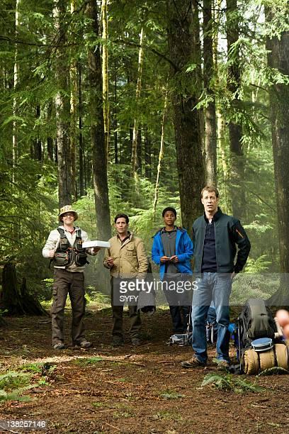 EUREKA Momstrosity 405 Pictured Neil Grayston as Douglas Fargo James Callis as Grant Colin Ferguson as Jack Carter
