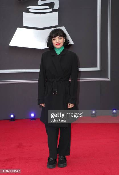 Mon Laferte attends the 20th annual Latin GRAMMY Awards at MGM Grand Garden Arena on November 14 2019 in Las Vegas Nevada