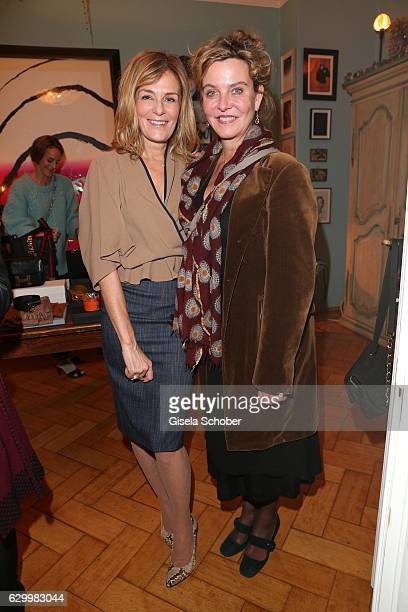 Mon Muellerschoen and Margarita Broich during the Mon Muellerschoen Vestiaire Collective charity auction benefit fo 'Tribute to Bambi' Foundation on...