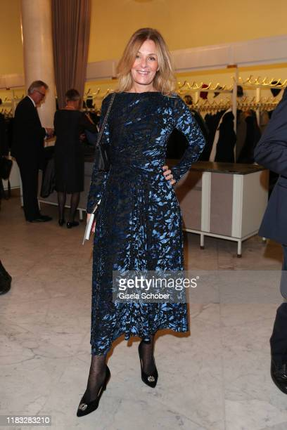 Mon Muellerschoen at the opera premiere of Die tote Stadt by Erich Wolfgang Korngold at Bayerische Staatsoper on November 18 2019 in Munich Germany
