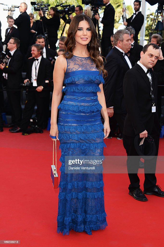 Mona Abou Hamze attends the Premiere of 'Cleopatra' during the 66th Annual Cannes Film Festival at the Palais des Festivals on May 21, 2013 in Cannes, France.