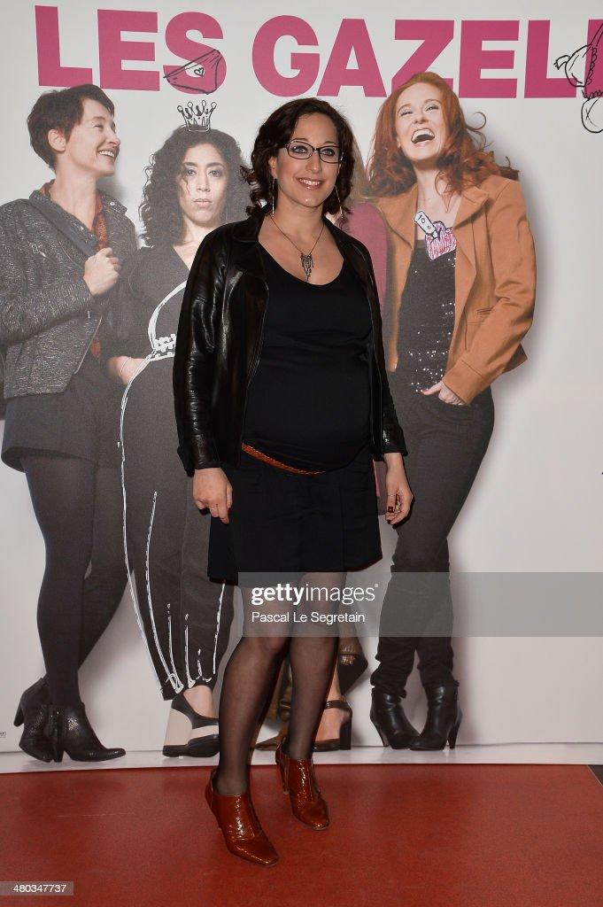 Mona Achache attends the Paris premiere of 'Les Gazelles' film at Cinema Gaumont Opera