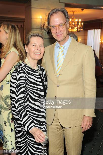 Mona Arnold and Greg Arnold attend Fountain House Symposium And Luncheon at The Pierre Hotel on May 6 2019 in New York City
