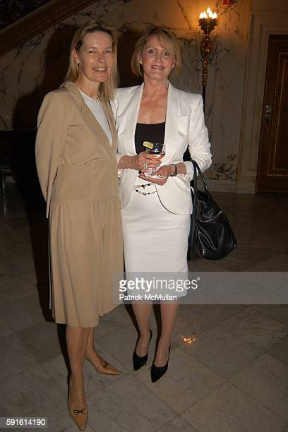 Mona Arnold and Judi Sorensen attend National Audubon Society Women In Conservation Luncheon at The Metropolitan Club on June 1 2005
