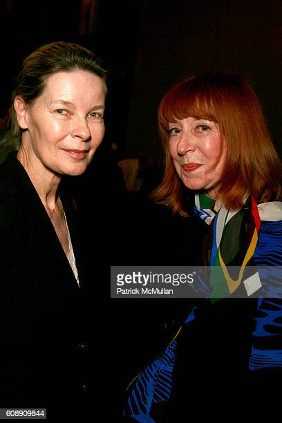 Mona Arnold and Lyn Handler attend The Danish Heritage Foundation at Harvard Club on November 28 2007 in New York City