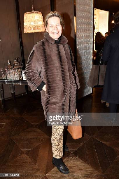 Mona Arnold attends the launch of NORELL Master of American Fashion by Jeffrey Banks and Doria de La Chapelle hosted by Baccarat at Baccarat Flagship...