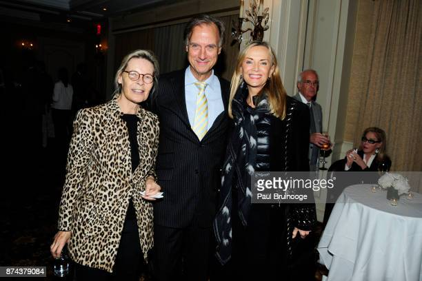 Mona Arnold Greg Arnold and Bonnie Pfeifer Evans attend In Celebration of the life of Lee Mellis at 21 Club on November 14 2017 in New York City