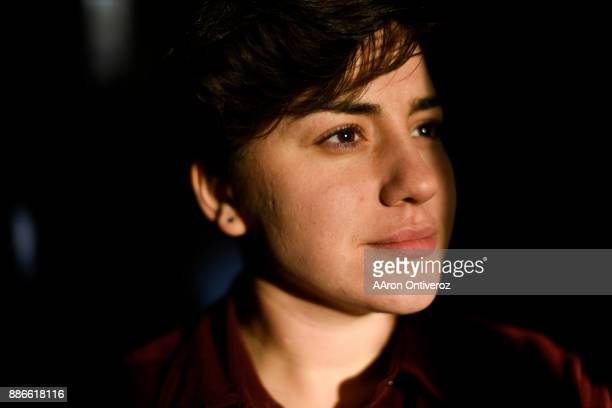 Mona Ayoub who moved to the United States in August to work for Boulderbased charity Humanwire poses for a portrait on Tuesday December 5 2017 Ayoub...
