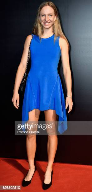 Mona Barthel of Germany attends the 2017 China Open Player Party at Beijing Olympic Tower on October 1 2017 in Beijing China