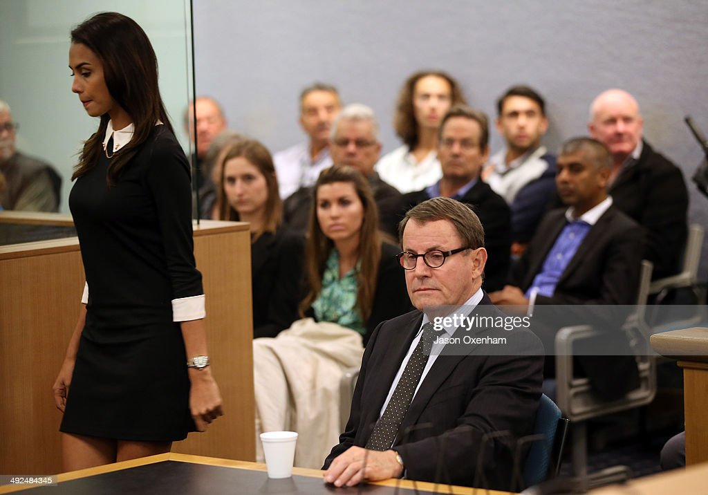John Banks Faces Auckland High Court : News Photo