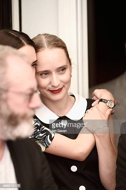 Mona Fastvold attends a photocall for 'The Childhood Of A Leader' during the 72nd Venice Film Festival at Palazzo del Casino on September 5 2015 in...