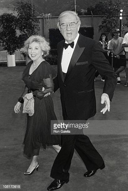 Mona Graham and Karl Malden during Bob Hope Birthday Celebration and Taping at NBC Studios in Burbank California United States