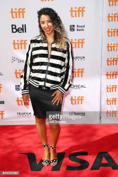 "Mona Halem attends ""The Carter Effect"" premiere during the 2017 Toronto International Film Festival at Princess of Wales Theatre on September 9, 2017..."