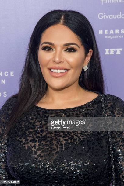 Mona Kattan attends 2018 Fragrance Foundation Awards at Alice Tully Hall at Lincoln Center
