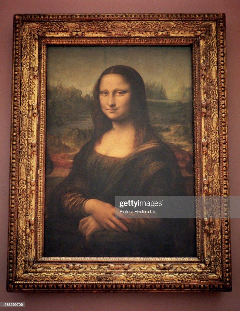 Mona Lisa by Leonardo da Vinci : News Photo