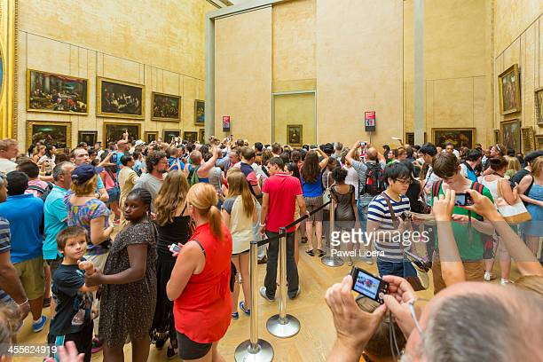 Mona Lisa, Louvre Museum ,Paris