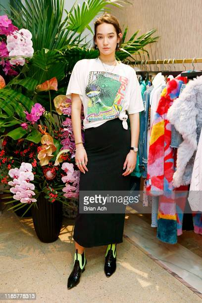 Mona Matsuoka performs at the Montblanc x The Webster Collaboration Launch Event at The Webster on November 05, 2019 in New York City.