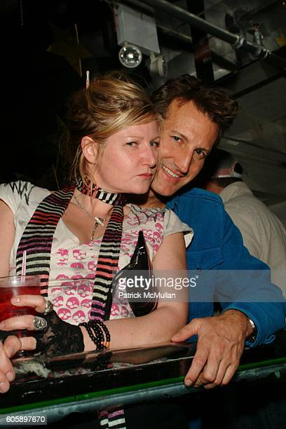 Mona May and Dr Mark Warfel attend AMANDA LEPORE DOLL After Party at Happy Valley on April 11 2006 in New York City