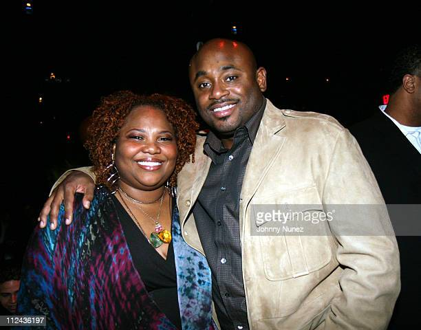 Mona Scott and Steve Stout during Mona Scott Young's 'All Grown Up Sexy' Birthday Bash at The Grand in New York City New York United States