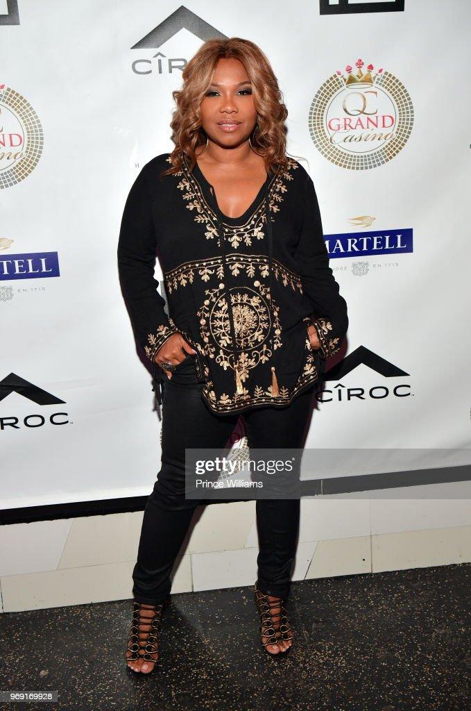 Mona Scott attends a Birthday Celebration for Pierre 'Pee' Thomas at Gold Room on June 7, 2018 in Atlanta, Georgia.