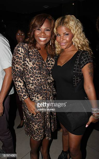 Mona ScottYoung and Misa Hylton attend The Misa Hylton Fashion Academy Presents A Toast To Today's Top Stylists at Kristalbelli on September 13 2012...