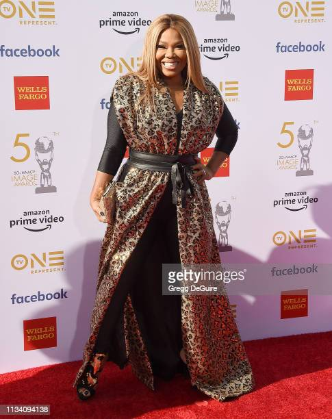 Mona ScottYoung arrives at the 50th NAACP Image Awards at Dolby Theatre on March 30 2019 in Hollywood California