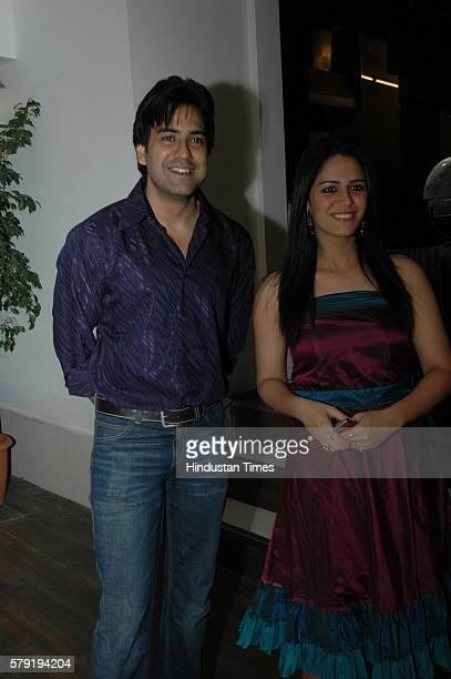 Mona Singh And Karan Oberoi