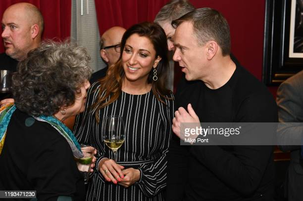 Mona Zolatan and Sean Callagy attend an UNBLINDED Dinner Hosted By Jay Abraham Sean Callagy And Shannon O'Donnell on January 11 2020 in Paramus New...