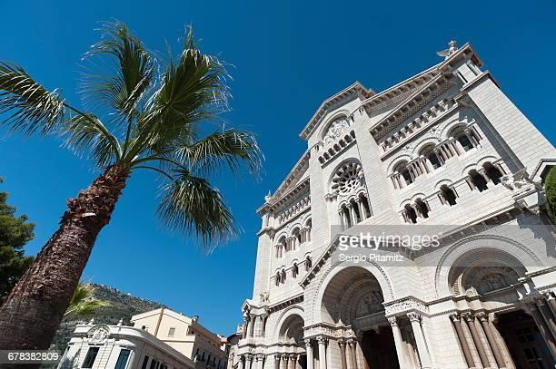 Monaco Cathedral, Principality of Monaco, Cote dAzur, Europe