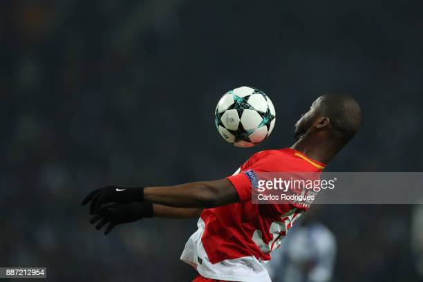 Monaco defender Almany Toure from Mali during the match between FC Porto v AS Monaco or the UEFA Champions League match at Estadio do Dragao on...