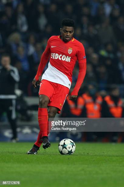 Monaco defender Jemerson from Brazil during the match between FC Porto v AS Monaco or the UEFA Champions League match at Estadio do Dragao on...