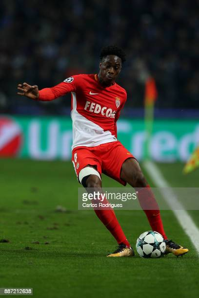 Monaco defender Terence Kongolo from Holland during the match between FC Porto v AS Monaco or the UEFA Champions League match at Estadio do Dragao on...