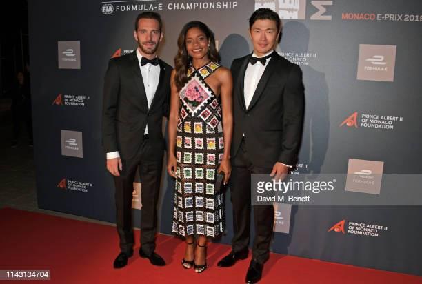 2019 Monaco EPrix winner JeanEric Vergne Naomie Harris and Rick Yune attend The ABB FIA Formula E 2019 Monaco EPrix 'Casino Royale' Black Tie Event...