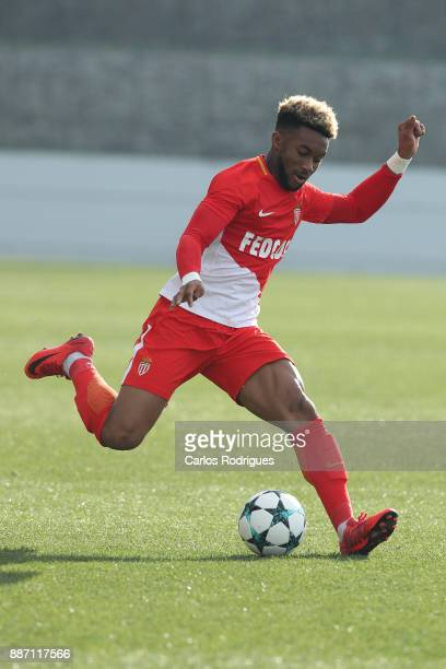 Monaco forward Moussa Sylla from France during the match between FC Porto v AS Monaco for the UEFA Youth Champions League match at Centro de Treino...