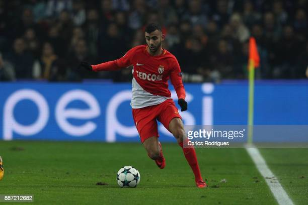 Monaco forward Rachid Ghezzal from Argelia during the match between FC Porto v AS Monaco or the UEFA Champions League match at Estadio do Dragao on...
