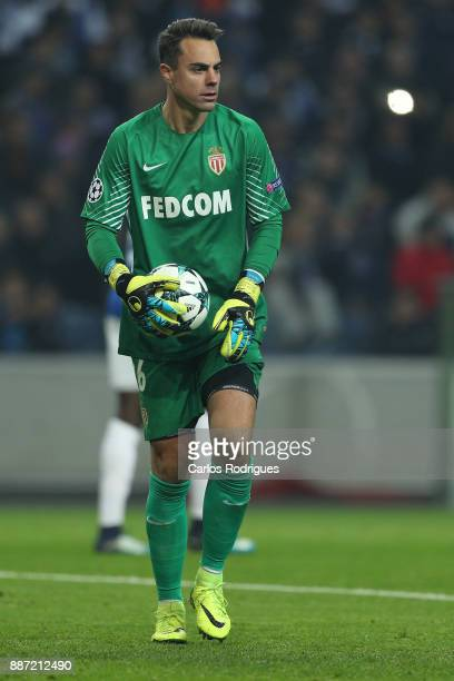 Monaco goalkeeper Diego Benaglio from Switzerland during the match between FC Porto v AS Monaco or the UEFA Champions League match at Estadio do...