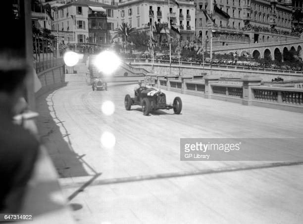 Monaco gp Alfa Romeo v Bugatti Tabac