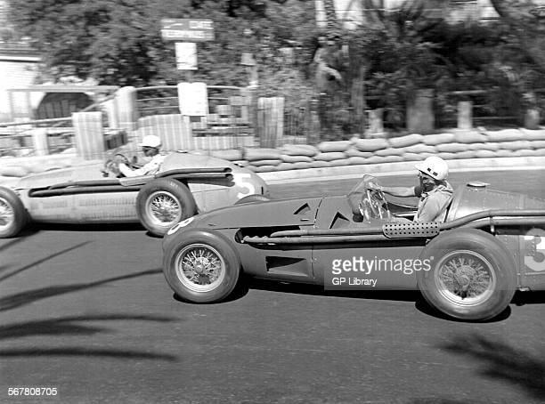 Monaco GP in Monte Carlo 1955