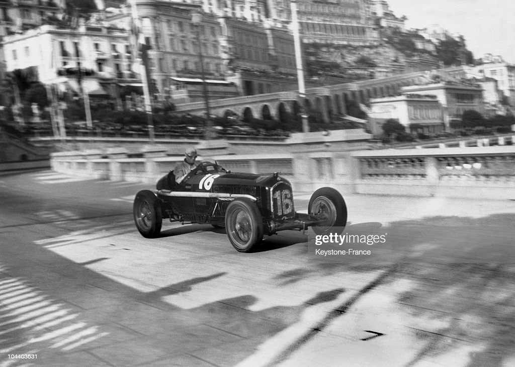 Monaco Grand Prix : Louis Chiron'S Car : News Photo