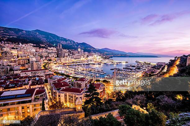 monaco, la condamine, monte carlo - monte carlo stock pictures, royalty-free photos & images
