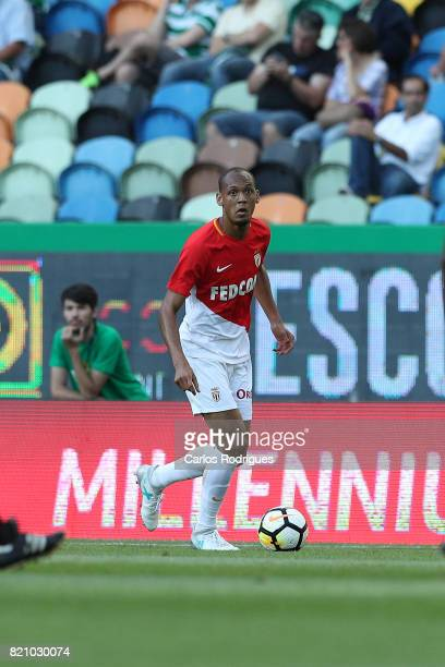 Monaco midfielder Fabinho from Brasil during the Friendly match between Sporting CP and AS Monaco at Estadio Jose Alvalade on July 22 2017 in Lisbon...