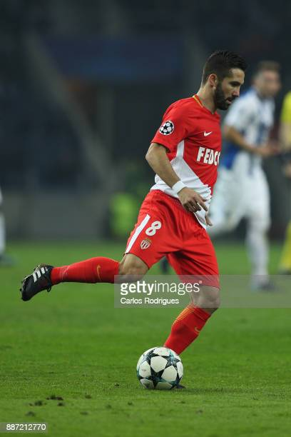 Monaco midfielder Joao Moutinho from Portugal during the match between FC Porto v AS Monaco or the UEFA Champions League match at Estadio do Dragao...