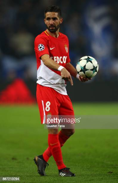 Monaco midfielder Joao Moutinho from Portugal in action during the UEFA Champions League match between FC Porto and AS Monaco at Estadio do Dragao on...