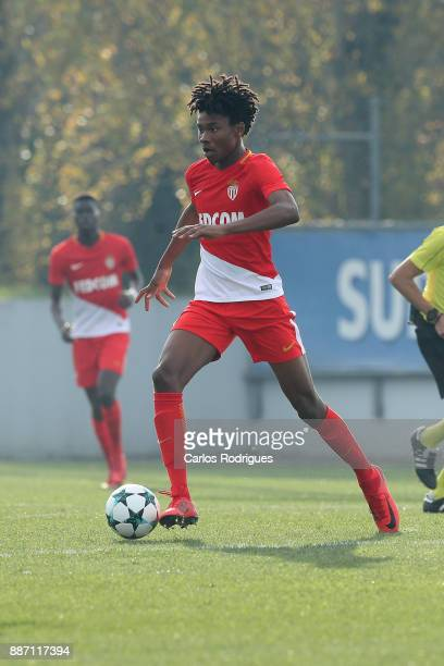 Monaco midfielder Kephren Ulien from France during the match between FC Porto v AS Monaco for the UEFA Youth Champions League match at Centro de...