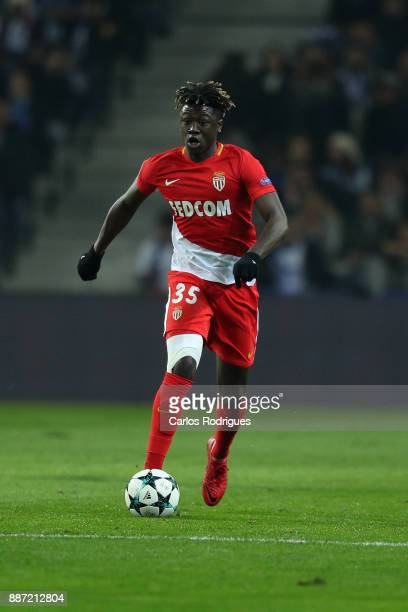Monaco midfielder Kevin N Doram from France during the match between FC Porto v AS Monaco or the UEFA Champions League match at Estadio do Dragao on...