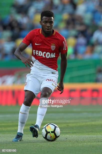 Monaco midfielder Thomas Lemar from France during the Friendly match between Sporting CP and AS Monaco at Estadio Jose Alvalade on July 22 2017 in...